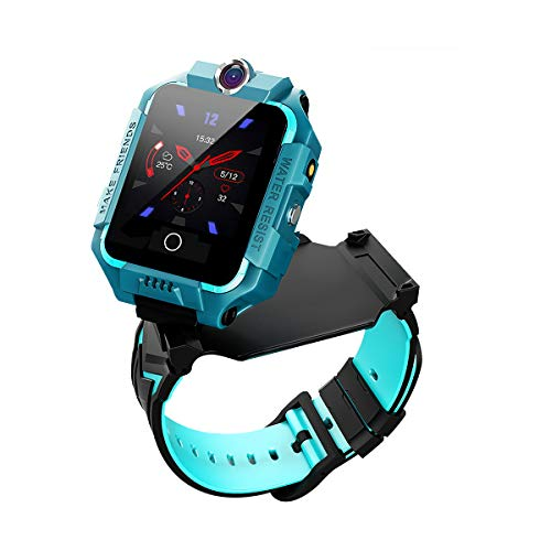 Sebay Smart Watch for Kids with Video Calls, Camera, Touch Screen, Step Counter, Translator,Alarm(Green)
