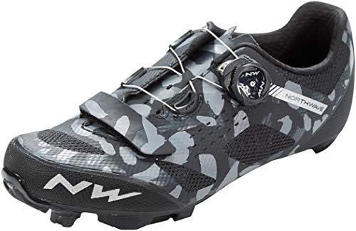 NORTHWAVE Sapatos Btt NW Razer, Zapatillas Unisex Adulto, Camuflaje/Negro, 41 EU