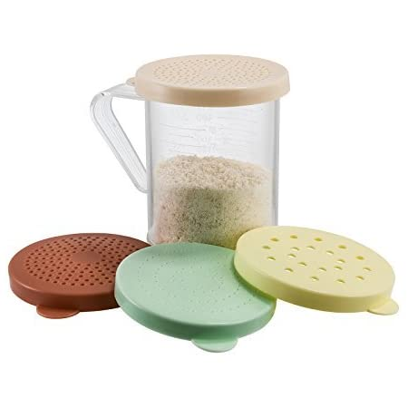 WINCO Dredge with snap on Lids, Clear