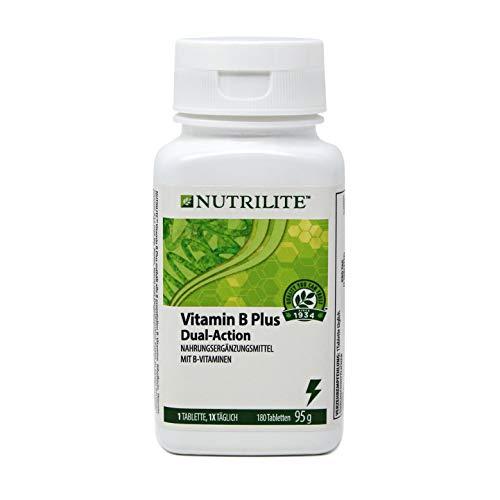 Vitamin B Plus Großpackung NUTRILITE™ - 180 Tabletten / 95 g - Amway - (Art.-Nr.: 110180)