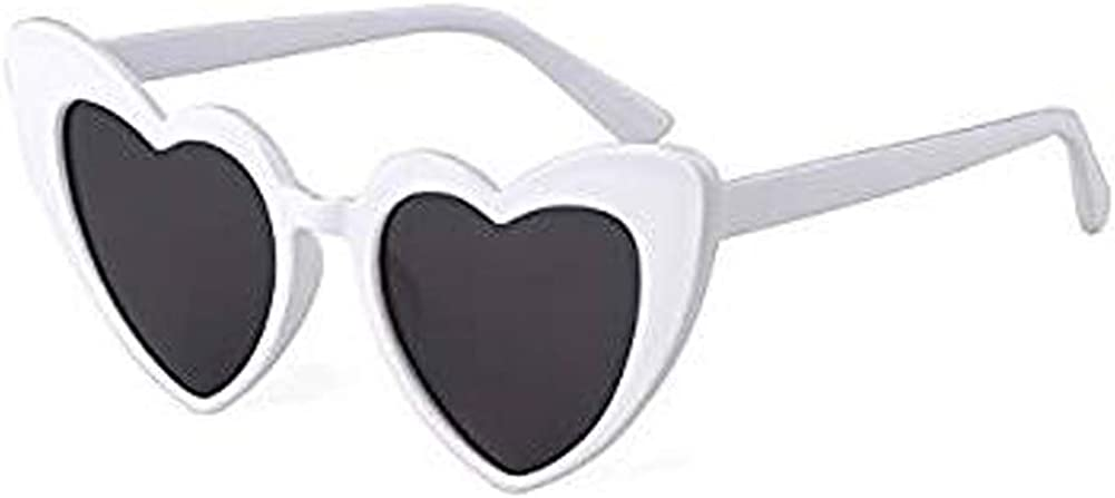 Toddler Kids Heart Shaped Love Sunglasses Colorful Vintage Cute Baby Eyewear For Party Beach Travel Photography
