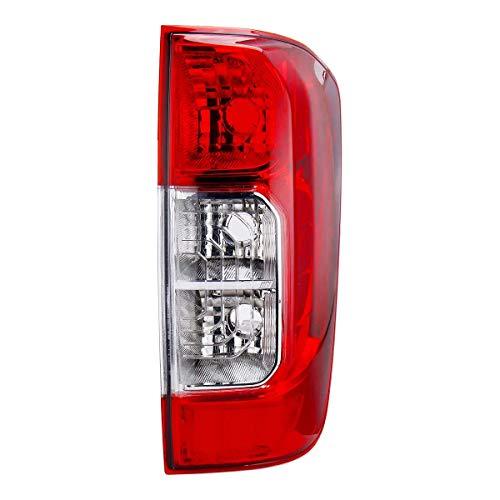 Wooya Luz Trasera Trasera Roja Sin Bombillas Alambre Izquierda/Derecha para Nissan Navara Np300 D23 2015-2019 - Derecho