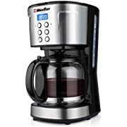 Mueller Ultra Coffee Maker, Programmable 12-Cup Machine, Multiple Brew Strength, Keep Warm