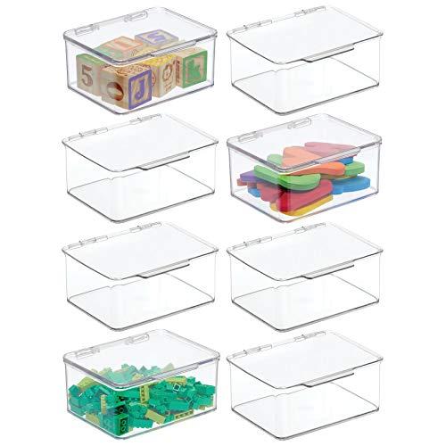 cestos de plastico con tapa fabricante mDesign