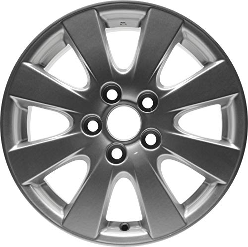 Partsynergy Replacement For New Aluminum Alloy Wheel Rim 16 Inch Fits 07-11 Toyota Camry 8 Spokes 5-114.3mm