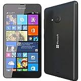microsoft lumia 535 - smartphone telcel libero (écran 5 , appareil photo 5 mp, 8 go, 1,2 ghz, 1 go de ram, windows), (importé), noir