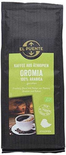 El Puente Äthiopien-Kaffee Oromia gemahlen (1 x 250 g)