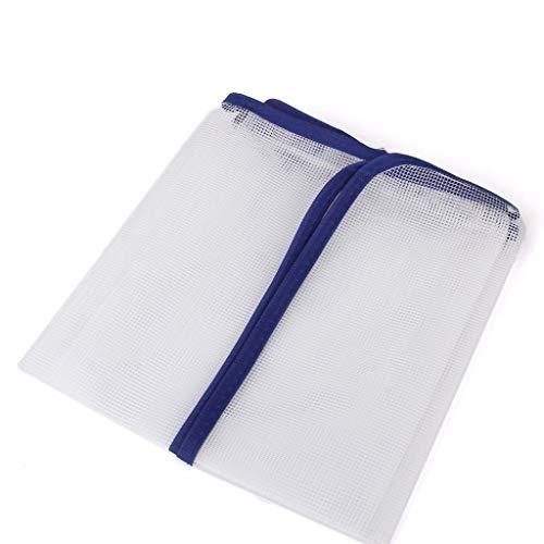 2er Set Bügeltuch Bügelhilfe für Dampf-Bügeleisen, Bügelschutz-Tuch Bügeltücher für Seide, Nylon, Perlon und andere empfindliche Stoffe bis 200° C hitzebeständig