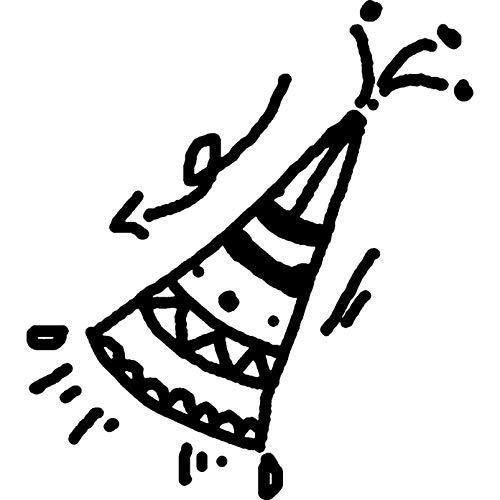Azeeda A7 'Partei-Hut' Stempel (Unmontiert) (RS00033676)