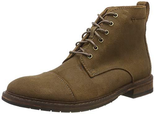 Clarks Herren Clarkdale Hill Klassische Stiefel, Grau (Taupe Suede Taupe Suede), 46 EU