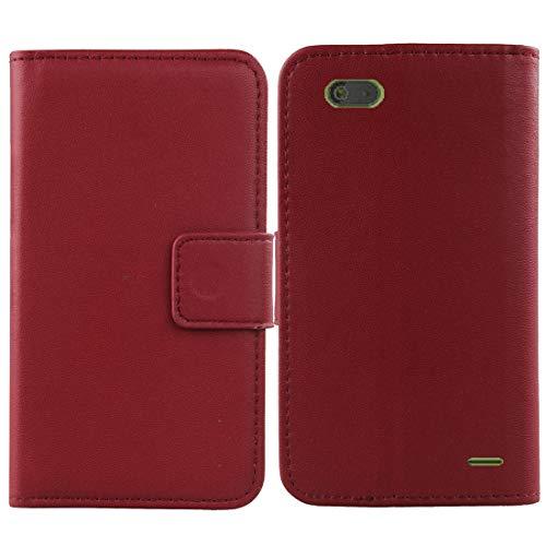 Gukas Design Echt Leder Tasche Für Gigaset GS100 5.5