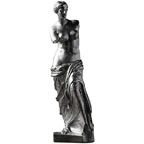 Little Boy Resina Venus De Milo Estatua Escultura, Grande CláSico Griego Afrodita Diosa HeleníStica Retro Venus Estatua Regalos para Mesa DecoracióN De Hogar Adornos