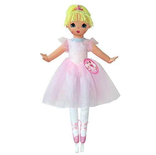 Anico Well Made Play Doll for Children La Bella Ballerina, 36' Tall, Pink