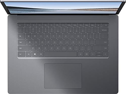 Microsoft Surface Laptop 3 13.5 Inch Touch-Screen 256GB i7 16GB RAM with Windows 10 Pro (Wi-Fi, 1.3GHz Quad-Core i7 up to 3.9GHz, Newest Version) Platinum with Alcantara PLA-00001