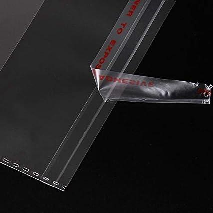 bolsa de embalaje sellada autoadhesivas 6 x 8 cm autosellantes y f/áciles de pelar para caramelo y jab/ón. 100 bolsas de pl/ástico transparente