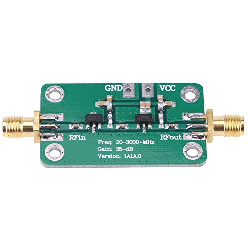 20-3000 MHz breedband 35 dB High Gain LNA geluidsarme RF-signaalversterkermodule Amateurradio voor korte golf FM TV Audio WiFi GPS