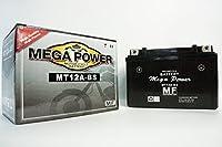 バイク バッテリー MT12A-BS 一年保証 メンテナンスフリー (YT12A-BS / FT12A-BS) 互換品