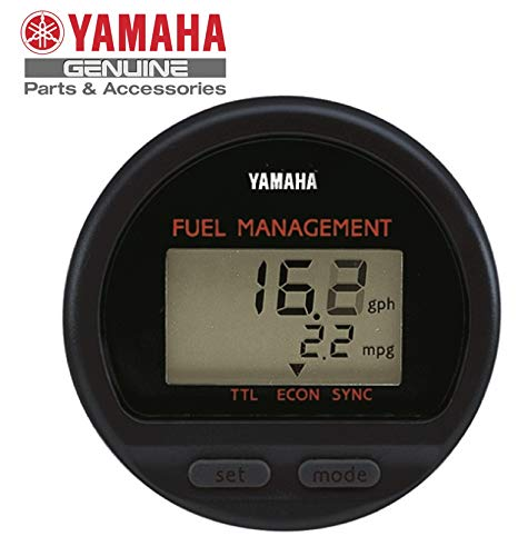 Yamaha 6Y5-83500-F2-00 Fuel Management Meter (Round); New # 6Y5-8350F-B0-00 Made by Yamaha