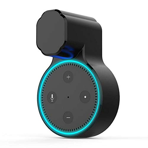 Yaootely for Alexa Echo Dot 2 Wall Mount Outlet Holder Hanger for 2Nd Generation a Space-Saving Solution for Your Home-1