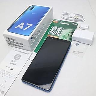 SIMフリー Galaxy A7 ブルー