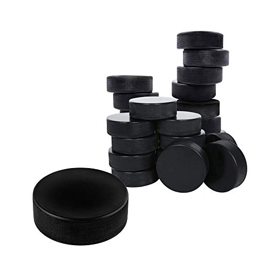 Thorza Ice Hockey Pucks Bulk 30 Pc. Set – Official Regulation Hockey Training Puck Case