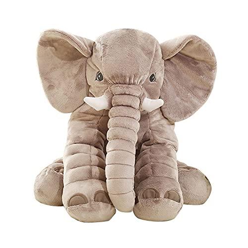 Baby Kissen,Lagerungskissen,Stillkissen,Baby Elefant Kissen Kuscheltier Spielzeug Kinderbett Kissen für Schwangere Frauen Kissen Kind Schlaf Elefant Baby Kind Kissen 60cm
