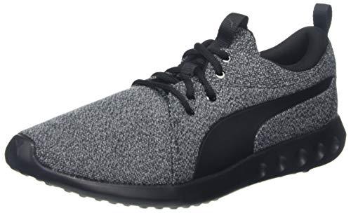 Puma Herren Carson 2 Knit NM Laufschuhe, Black Black, 42 EU