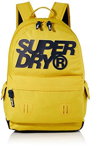 Superdry Herren High Build Lineman Montana Rucksack, Gelb (Sulphur Yellow), 30x20x44 cm