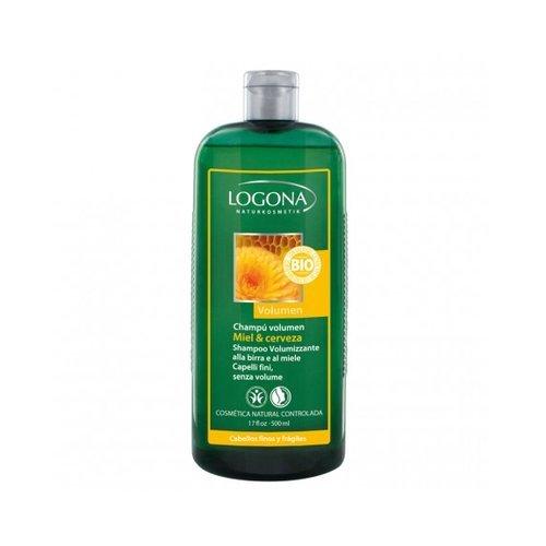 Shampoo Volume Miele e birra 500ml di Logona