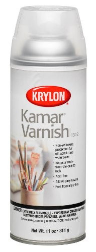 Krylon 451859 Kamar Varnish Spray-11 Unzen