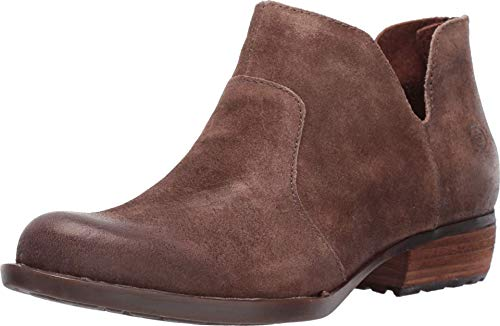 BORN Women's, Kerri Ankle Boot Taupe Distressed 9.5 M