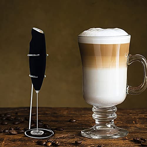 Alexsix Electric Milk Frother Whisk for Inventory cleanup selling sale Mixer Factory outlet Coffee Han Drink