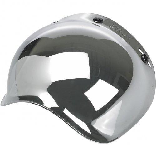 Visiera Bolla Bubble Biltwell Specchiata Cromata Mirror Chrome x Caschi Casco Moto Biltwell Bell DMD Bandit Yam AFX Nolan AGV Vell