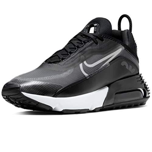 Nike Air MAX 2090, Zapatillas para Correr Hombre, Black White Wolf Grey Anthracite Reflect Silver, 45.5 EU