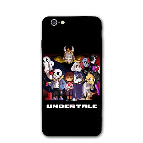 Max GH Undertale Sans Get Dunked On Cell Phone Case for iPhone 6/6s Soft Edges Shockproof and Anti-Drop Protection Cover Black One Size