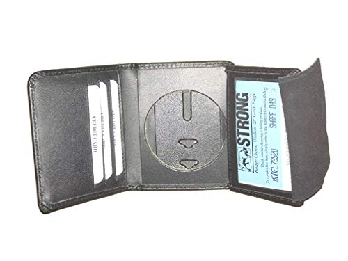 Strong Leather Company Hidden Badge Wallet - 79520-0192