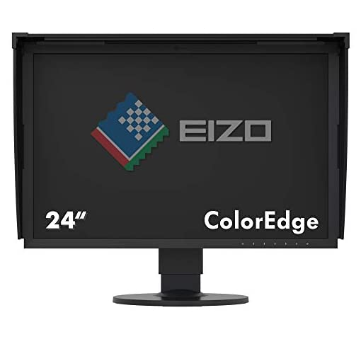 "Eizo CG2420 24.1"" Full HD IPS Negro Pantalla para PC LED Display - Monitor (61,2 cm (24.1""), 400 CD/m², 1920 x 1200 Pixeles, 10 ms, LED, Full HD) 5"