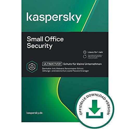 Kaspersky Small Office Security 8 Standard   7 Geräte 7 Mobil 1 Server   1 Jahr   Windows/Mac/Android/WinServer   für kleine Unternehmen   Standard   PC/Mac   Aktivierungscode per Email