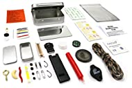 A lightweight survival kit in a compact hinged tin that is easy to carry, and will go everywhere with you. Ideal kit for anyone involved in camping, hiking, bushcraft and other outdoor activities. For its size, it packs in an impressive amount of kit...