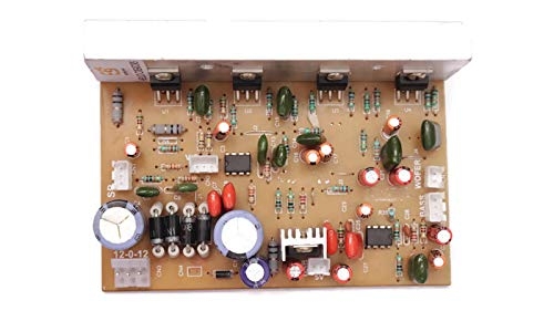 Electronicspices 5.1 tda2030 Based 150 W Amplifier Board with Connector with High and Low Pass Filter and Bass Boost Support Come Along Bluetooth FM with Remote Kit
