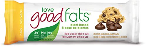 Love Good Fats Chocolate Chip Cookie Dough Plant Based, 39 g
