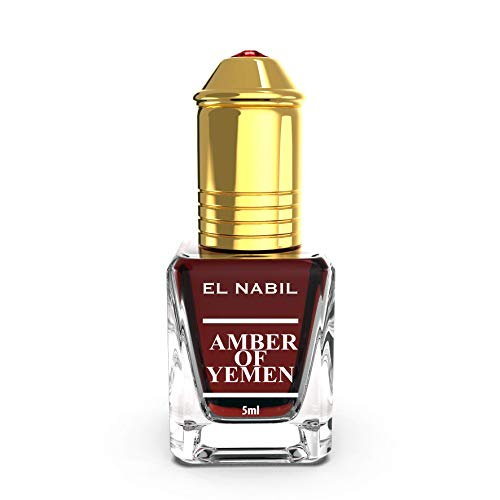 Amber of Yemen 5ml Parfum Duft - El Nabil Misk Musk Moschus Parfümöl für HERREN & DAMEN - Ätherische Essenzen Natur Perfume Oil Attar Scent