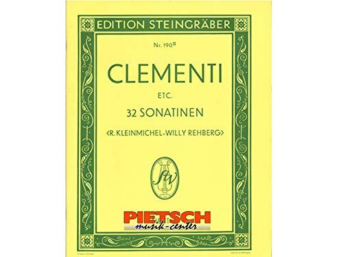 Clementi - 32 Sonatinen Band 2, Musiknoten für Klavier