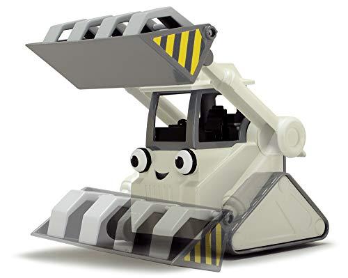 Dickie Toys 203134006 - Bob der Baumeister Garagen-Spielset mit Baggy und Rocky