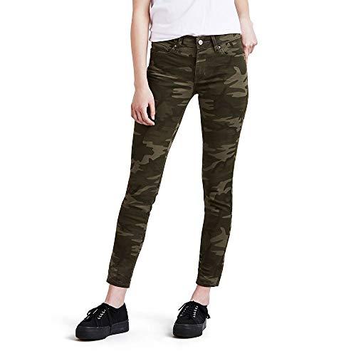 Levi's Women's 711 Skinny-Ankle Jeans, Soft Camo, 31 (US 12)