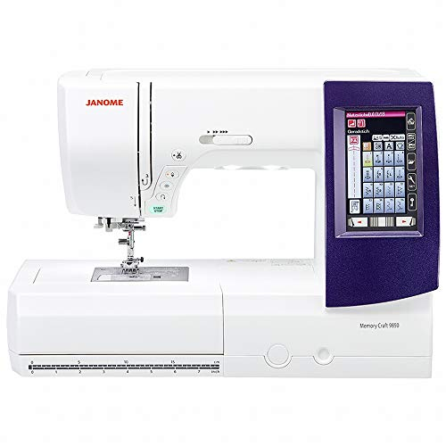 Janome MC 9850 - Máquina de coser y bordar