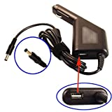 Car DC Power Adapter Charger + USB Port for Acer PA-1900-24 PA-1900-32