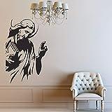 Creencia religiosa tatuajes de pared dios creativo espíritu divino mural pegatinas de vinilo dormitorio oficina estudio jardín de infantes decoración de interiores