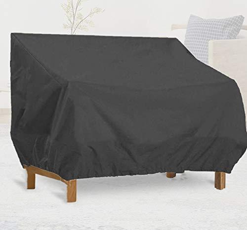 Cubierta de sofá de jardín para tumbonas de patio impermeable 420D Oxford para exterior de muebles de patio cubierta de muebles de patio silla cubierta de protección de muebles para sillón de sofá