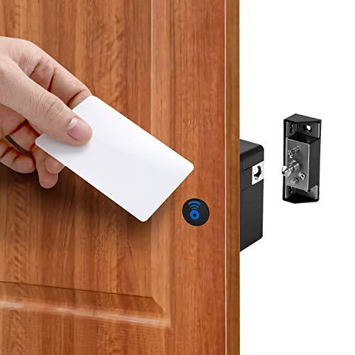 QWORK Cerradura de cajón RFID , Cerraduras ocultas para armario